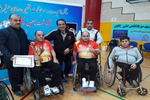 آذربایجانغربی در مسابقات تنیس روی میز معلولان کشور دوم شد