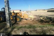 30 هزار متر مربع از اراضی کشاورزی ورامین آزاد شد
