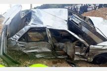 تصادف در جاده یاسوج یک کشته و 2 مصدوم در پی داشت