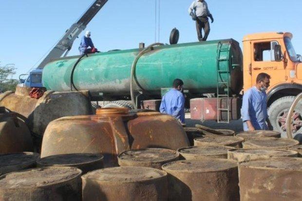 بیش از 49 هزار لیتر سوخت قاچاق در 2 شهرستان فارس کشف شد