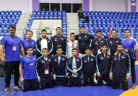 ایران قهرمانی کشتی فرنگی آسیا شد