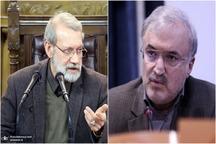 درخواست وزیر بهداشت از رییس مجلس برای برگزاری غیرحضوری جلسات مجلس + عکس نامه