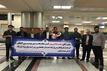استقبال یزدی ها از دارنده طلای مسابقات بین المللی پرس سینه گرجستان