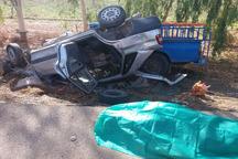 تصادف در جاده شوشتر - اهواز یک کشته و یک زخمی برجا گذاشت