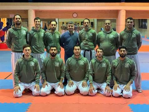 اردوی آماده سازی تیم ملی کاراته در آکادمی ملی المپیک