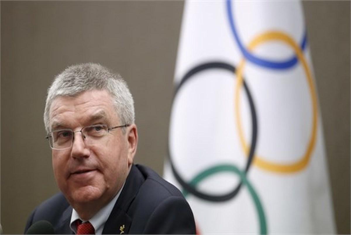 قول رئیس IOC به مردم ژاپن در آستانه المپیک 2020