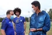 مرفاوی: هواداران صبور باشند/ هیچ بازیکنی در استقلال اُفت نمی کند