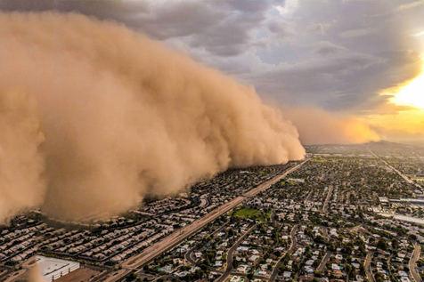 سازمان ملل: طوفان شن، خشکسالی و فرسایش در ایران، تا ۲۰۳۰ شدید میشود
