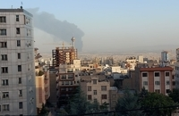 آتشسوزی در پالایشگاه شهید تندگویان تهران
