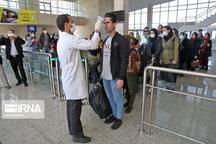هزار و ۱۴۰ مسافر در فرودگاه بجنورد تبسنجی شدند