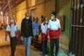 مانور صفر جمعه شب در هلال احمر قزوین برگزار شد