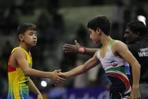 رقابتهای کشتی جام خراسان در مشهد آغاز شد