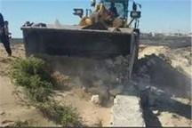 2000 مترمربع از اراضی ملی جیرفت رفع تصرف شد