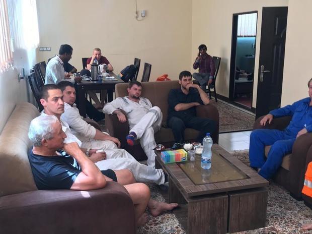 خدمه نفتکش «فرنت الطیر» از ایران خارج شدند