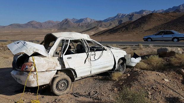 تصادف در جاده ندوشن یک کشته بر جا گذاشت
