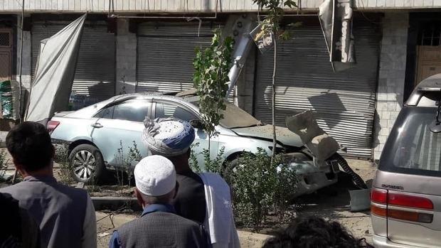 انفجار در پایتخت افغانستان + تصاویر