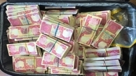 ۵۹۸ میلیون دینار تقلبی توسط پلیس فرودگاه کشف شد