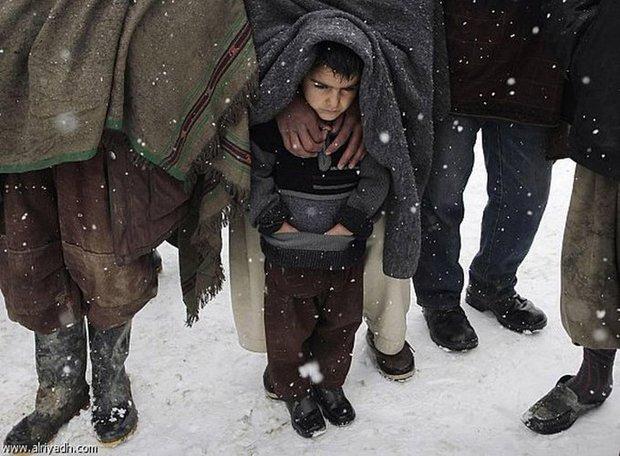 برف و کولاک مرگبار در افغانستان+ تصاویر