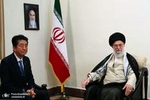 دیدار نخست وزیر ژاپن و هیئت همراه با رهبر معظم انقلاب