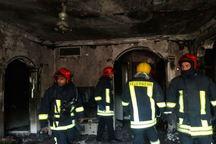 منزل مسکونی در مشهد طعمه آتش شد