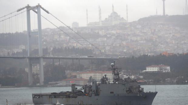 آمریکا دو کشتی جنگی به دریای سیاه می فرستد
