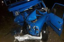 حادثه  رانندگی در جاده کرج - چالوس یک کشته برجای گذاشت