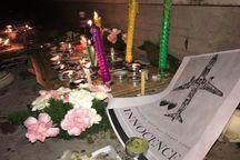 برافروختن شمع در اصفهان به یاد جانباختگان سقوط هواپیما