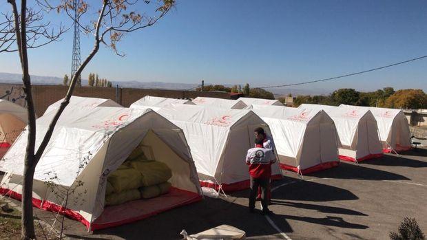 حدود ۶۰ درصد اسکان اضطراری زلزله زدگان آذربایجان شرقی انجام شده است