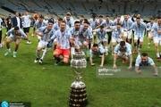 پاداش آرژانتین برای قهرمانی در کوپا آمه ریکا چقدر است؟