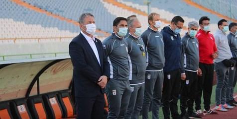 حضور خبرنگاران در نشست خبری تیم ملی فوتبال آزاد شد