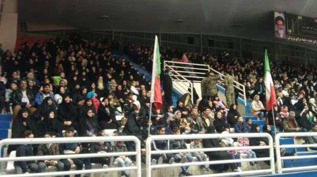 همایش دو هزار نفری بسیجیان ورزشکار در مشهد برگزار شد