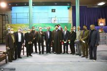 دیدار اعضای انجمن اسلامی معلمان با سید حسن خمینی