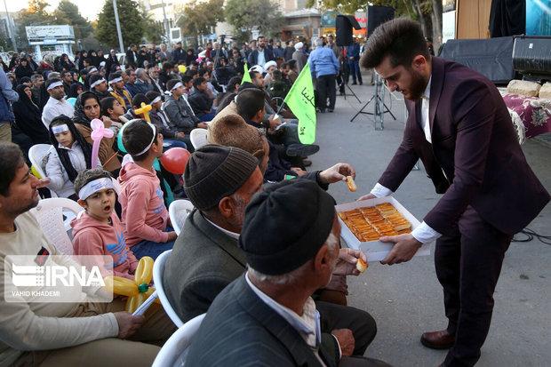جشن بیعت با امام عصر(عج) در بجنورد برگزار شد