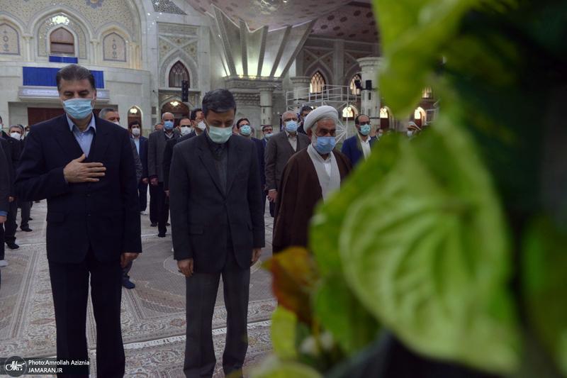 تجدید میثاق رئیس و مدیران بنیاد مستضعفان با آرمان های امام خمینی(س)