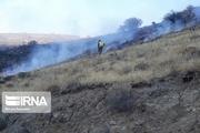 آتش سوزی ارتفاعات گچان ملکشاهی مهار شد