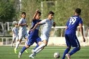 حضور سردار آزمون در تمرین تیم فوتبال جوانان