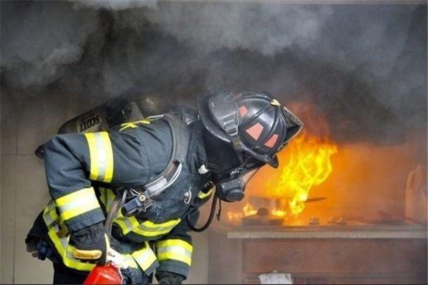 کارخانه فرآوردههای لبنی پادراتوس قوچان آتش گرفت
