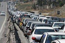 ترافیک محور رشت - قزوین نیمه سنگین اما روان است