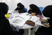 کارگاه آثار تجسمی با موضوع «شهید سلیمانی» دربوشهر برگزار شد