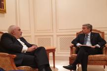 گفت و گوی ظریف و وزیر خارجه کانادا در خصوص سانحه هوایی