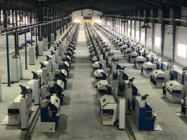 استیل کرد دره شهر نیاز کارخانجات لاستیک سازی را تامین می کند
