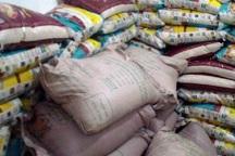 24 تن برنج خارجی قاچاق در مراغه کشف شد