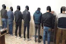 هشت نفر از عاملان راهبندان خیابانهای شیراز در دام پلیس