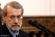 لاریجانی: آمریکاییها به دنبال صدمه زدن به وفاق ایجاد شده بین ملت ایران و عراق هستند