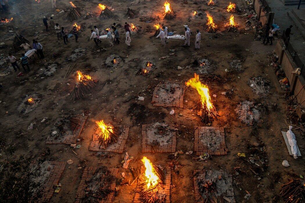 سوزاندن اجساد در هند