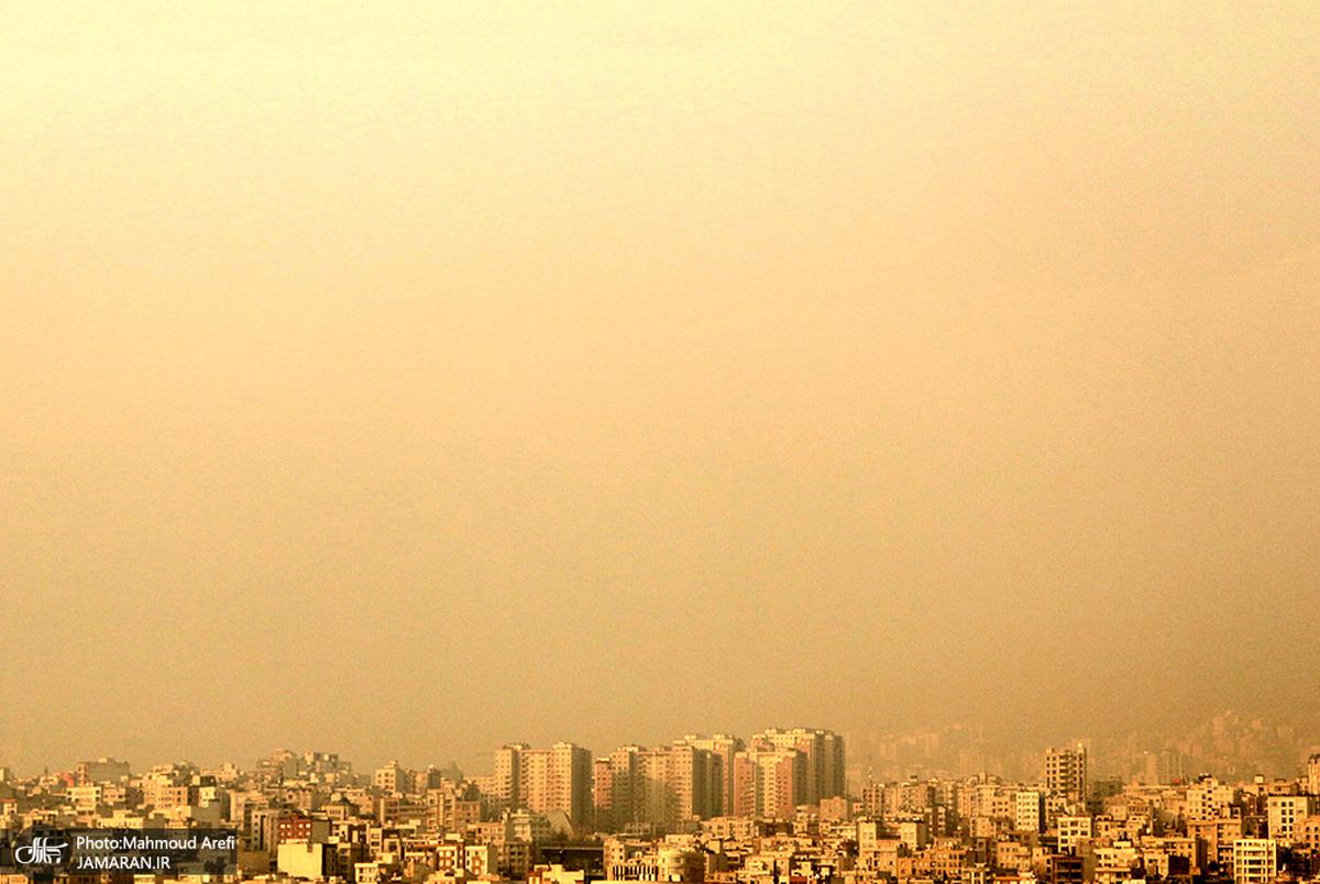 در اولین روزهای پاییز کیفیت هوای تهران «بنفش» شد!
