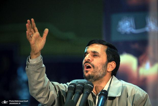 شعار انتخاباتی احمدی نژاد مشخص شد؟/ ماجرای یارانه 40 دلاری چیست؟!