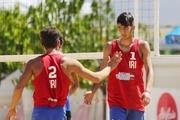 قهرمانی تیم والیبال ساحلی زیر ۱۹ سال ایران در آسیا
