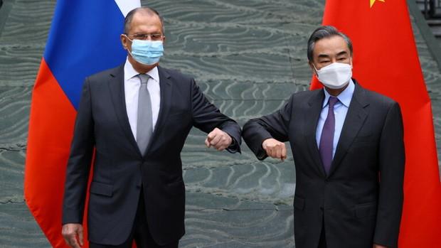 تقابل روسیه و چین با اروپا و آمریکا جدی شد