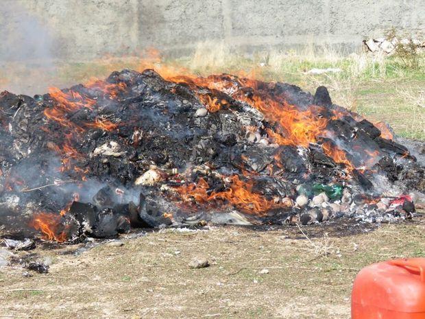 بیش از ۵۰۰ کیلوگرم موادمخدر در کرمانشاه امحاء شد